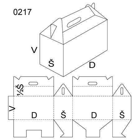 Obrázek z Klopová krabice 0217