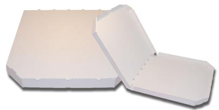 Obrázek z Pizza krabice, 45 cm, bílo bílá bez potisku