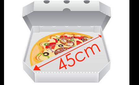 Obrázek pro kategorii Krabice na pizzu 45 cm