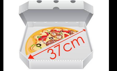 Obrázek pro kategorii Krabice na pizzu 37 cm